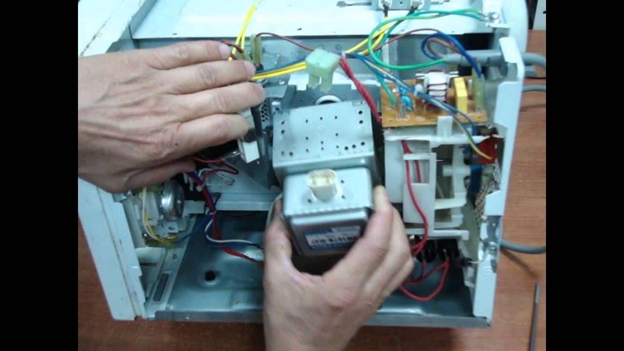 Tutorial Reparacion Microondas | Cosas Tecnicas | Pinterest