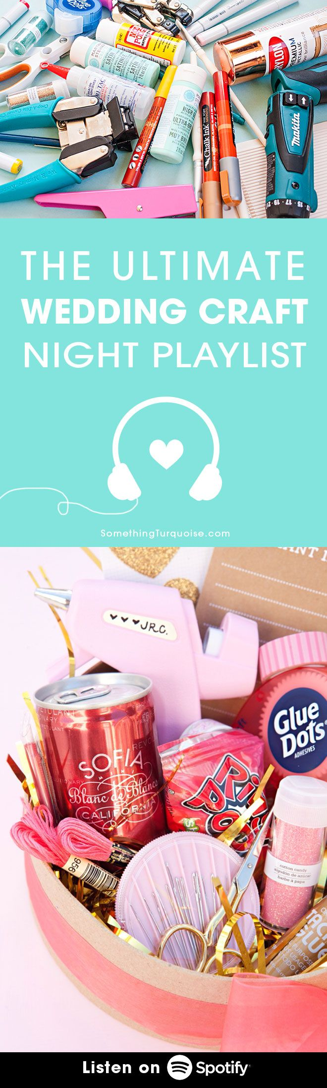The Ultimate Spotify Playlist For Wedding Craft Nights Spotify