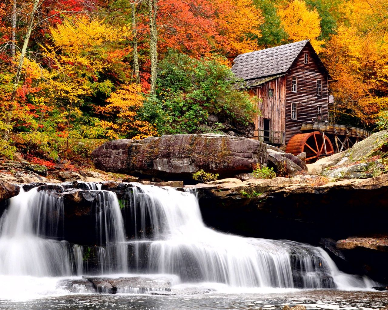 waterfalls pictures for screensavers HD Wallpaper