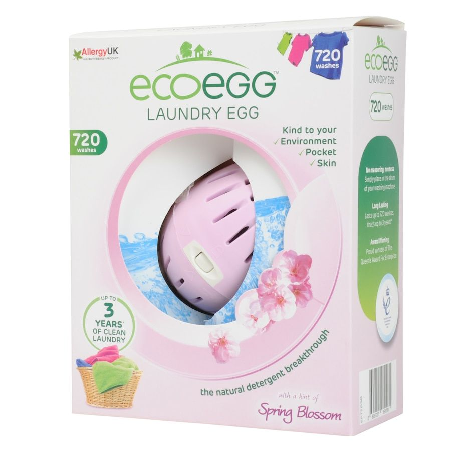 Ecoegg 720 Wash Laundry Egg Spring Blossom Washing Detergent