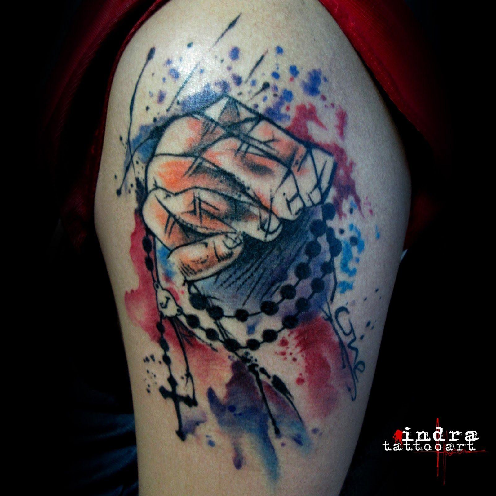 Indonesia watercolor tattoo tattoo jakarta tattoo depok