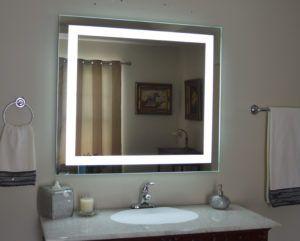 Lighted Bathroom Vanity Make Up Mirror Led Wall Mounted