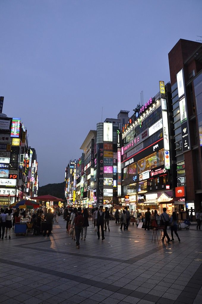 Seoul At Night A Photo Essay Korea South About