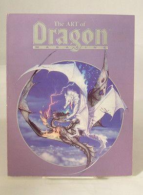 The Art of Dragon Magazine (1988, Hardcover)