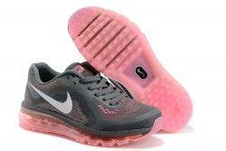 Nike Air Max 2014 Mujer Zapatilla Deportiva Grises Rosas