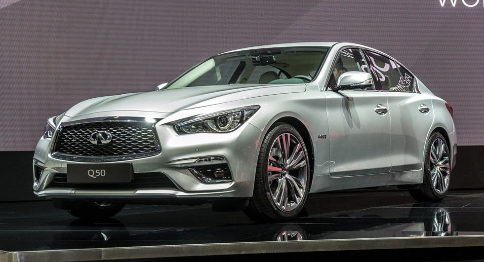 Infiniti Rolls Out Updated 2018 Q50 Sports Sedan In Geneva 79 Pics Video Best Luxury Cars Sports Sedan Luxury Sedan