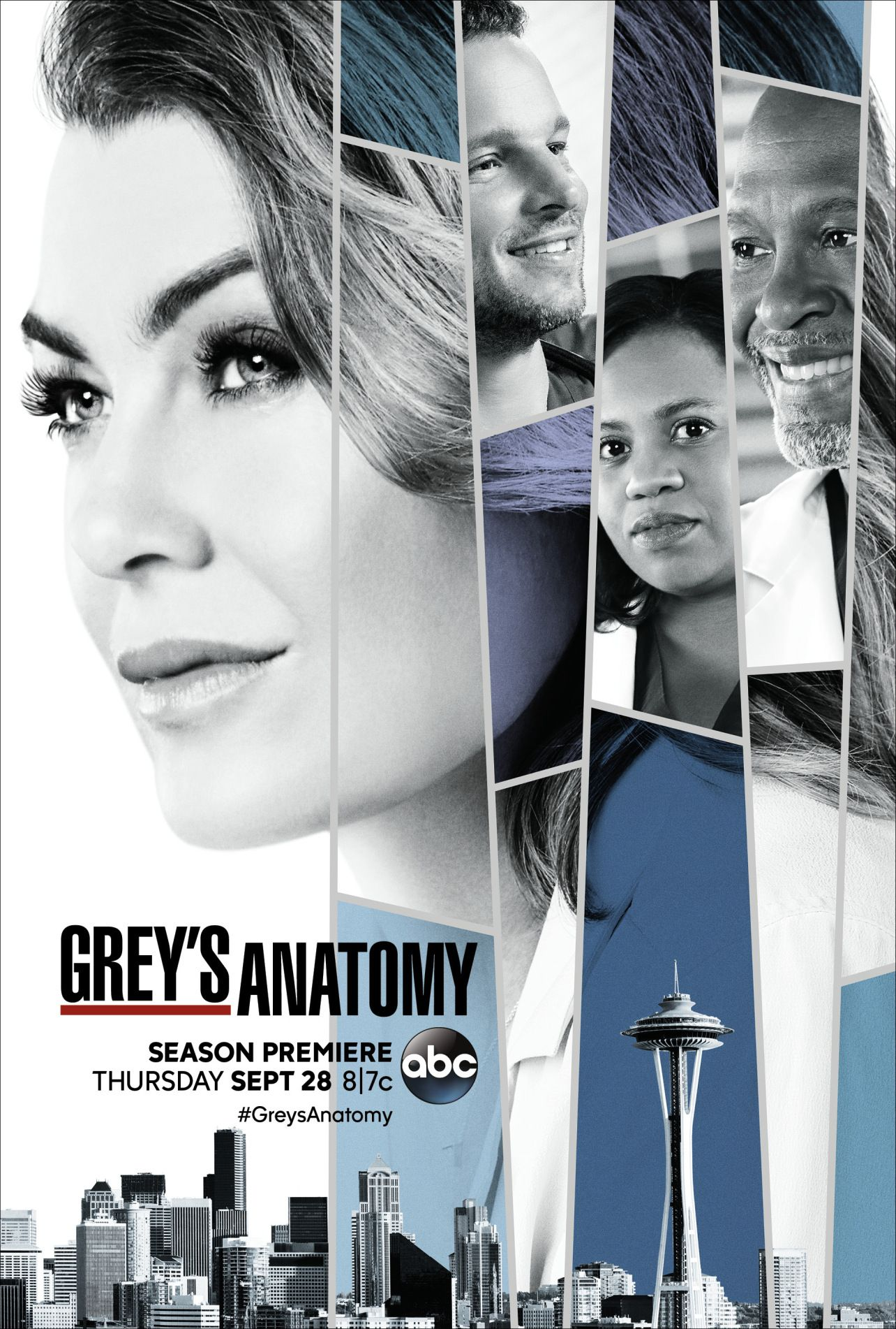 Grey\'s Anatomy Season 14 Poster: Mer (Literally) Has Alex on the ...