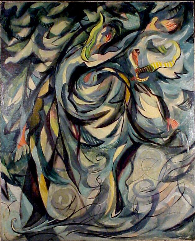 Les Patineurs By Abraham Rattner 1930 Leepa Rattner Museum Of