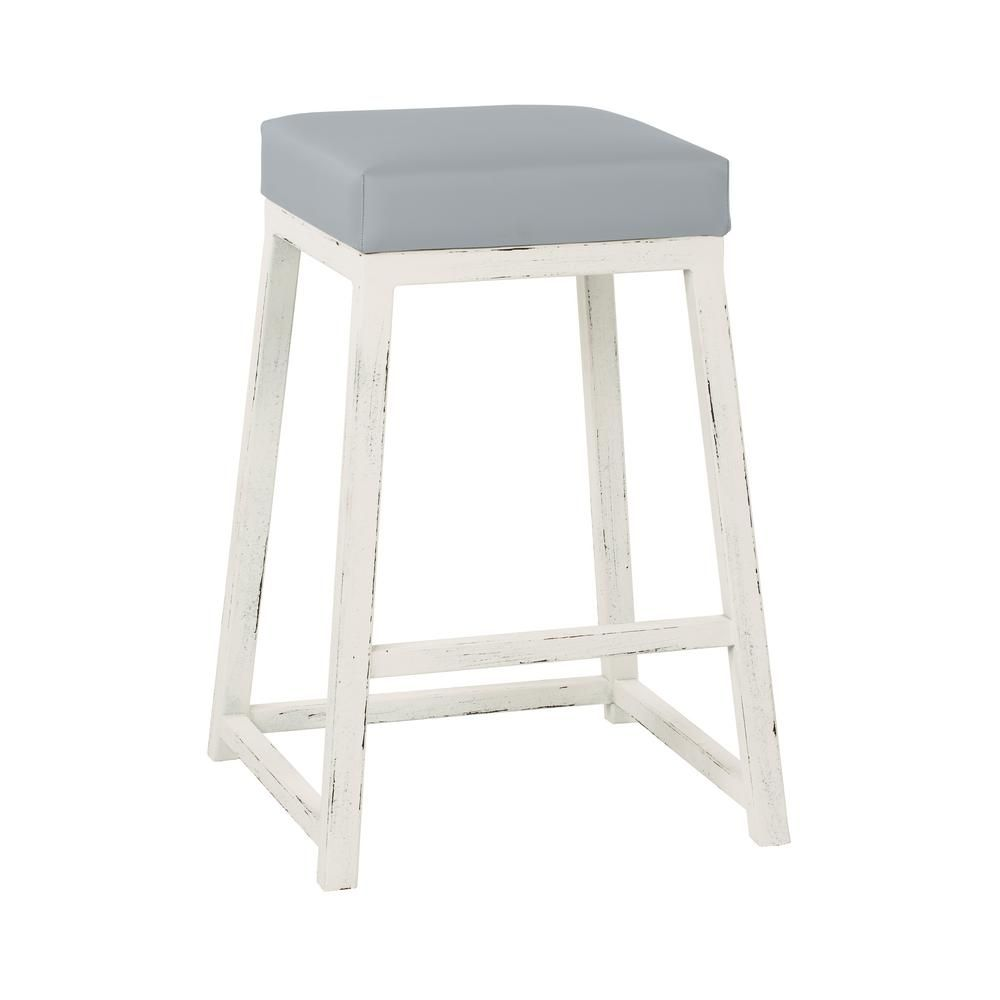 Taylor Gray Home Haley 26 In Gray Steel Backless Barstool B235h26b Bar Stools Backless Bar Stools Counter Stools