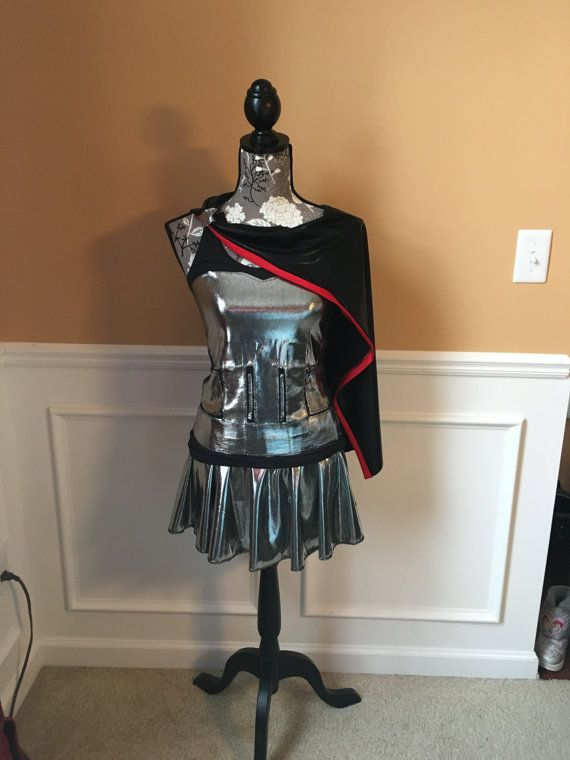 Captain Silver Troop Performance Running costume outfit