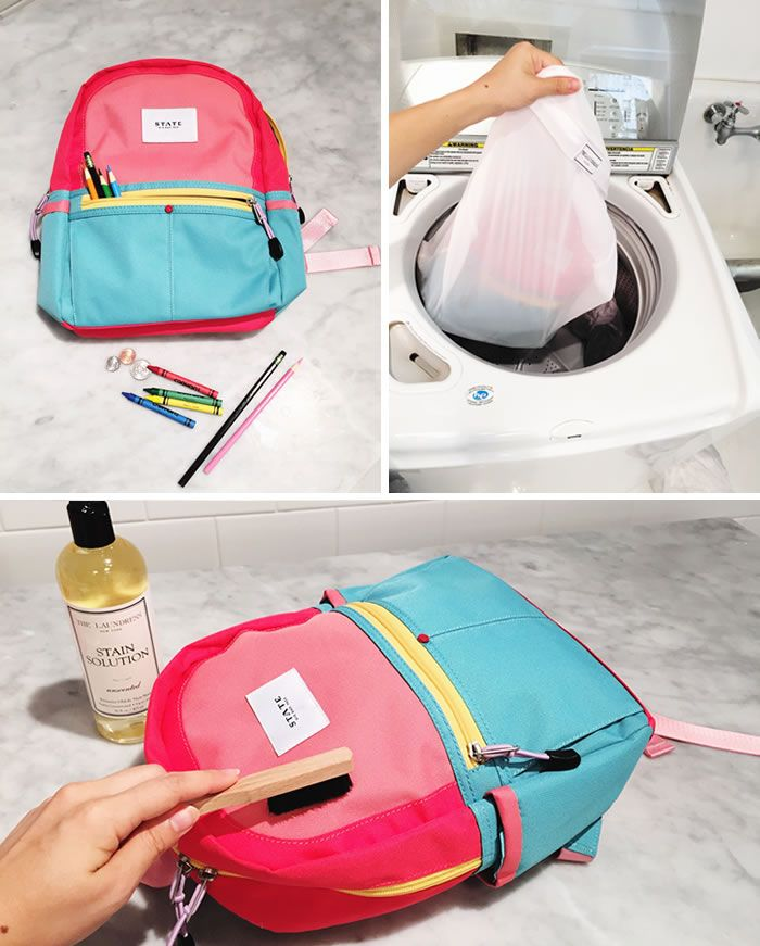 How To Clean Backpacks Lunchboxes The Laundress Blog With