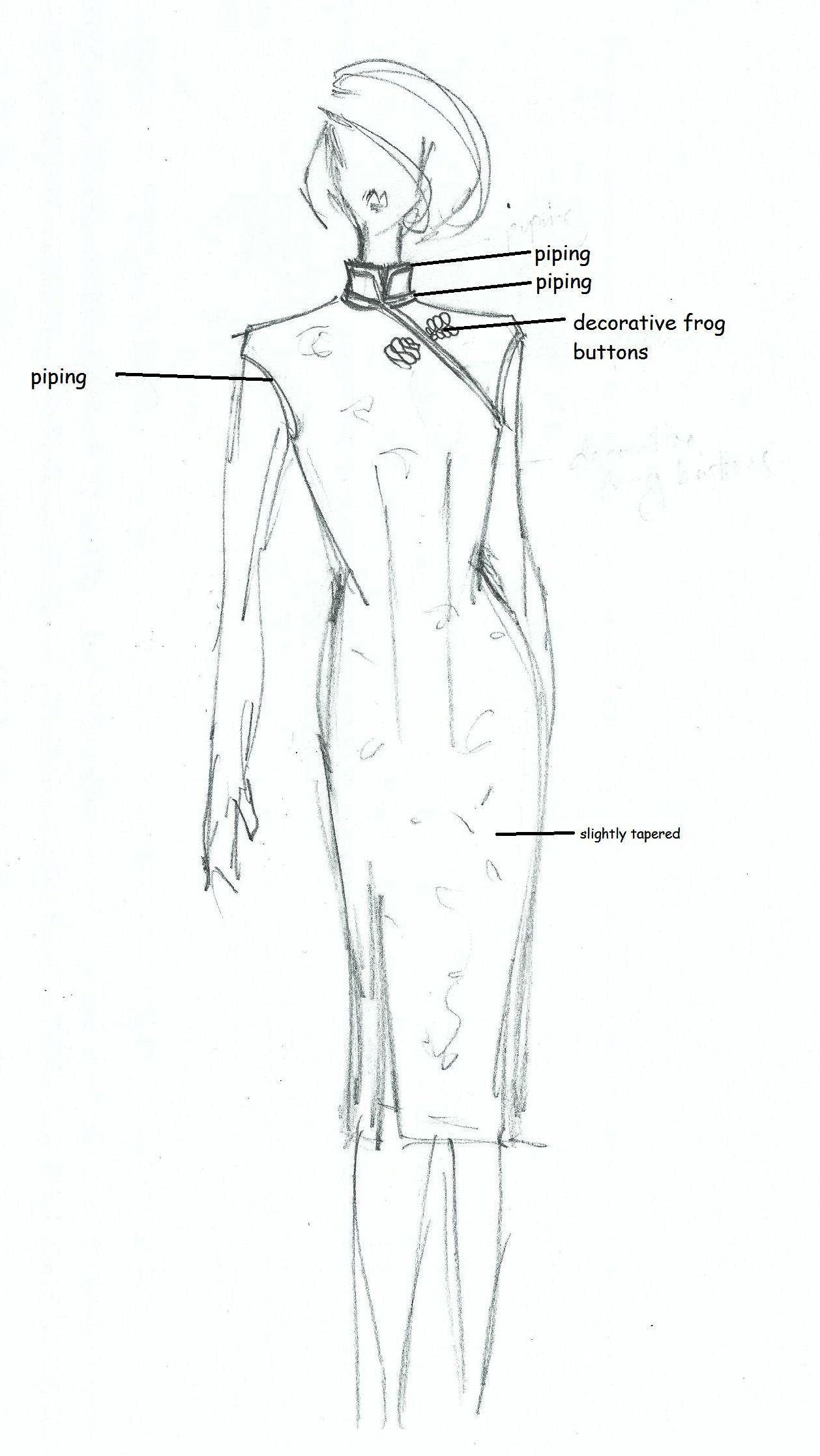 Tutorial: Anatomy of a Cheongsam   Nähen