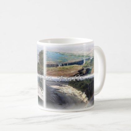 Zm Zambia Zimbabwe Victoria Falls Coffee Mug Zazzle Com Autumn Coffee Mugs Fall Decor Diy