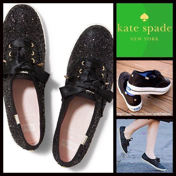 KATE SPADE Keds Platform Sneakers Black