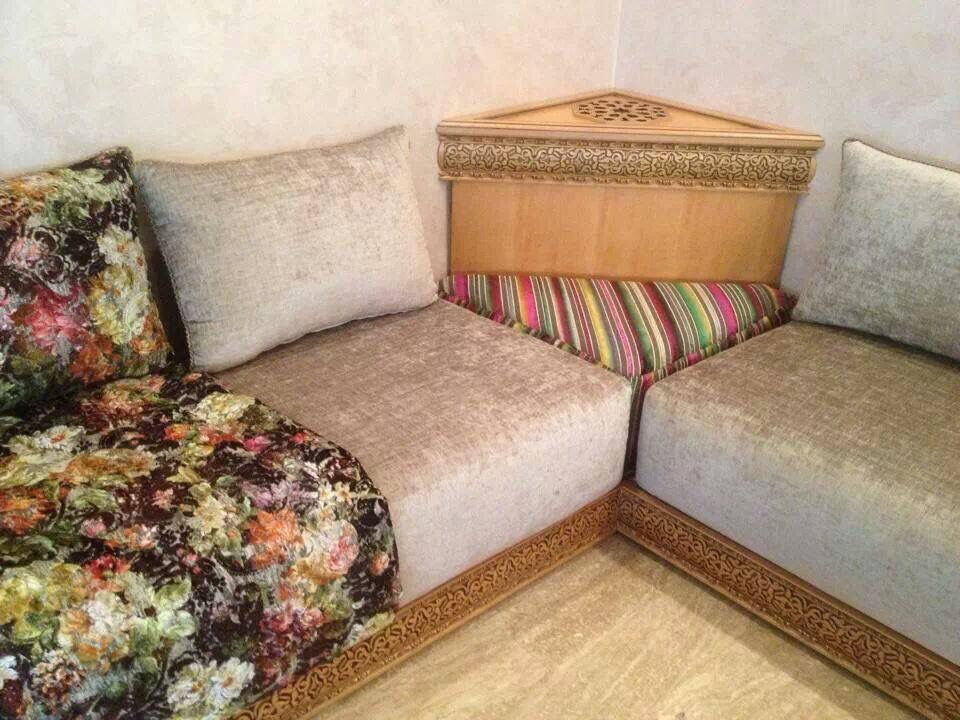 Salon Marocain Moderne Moroccan Living Room Wooden Sofa Designs Dream House Decor