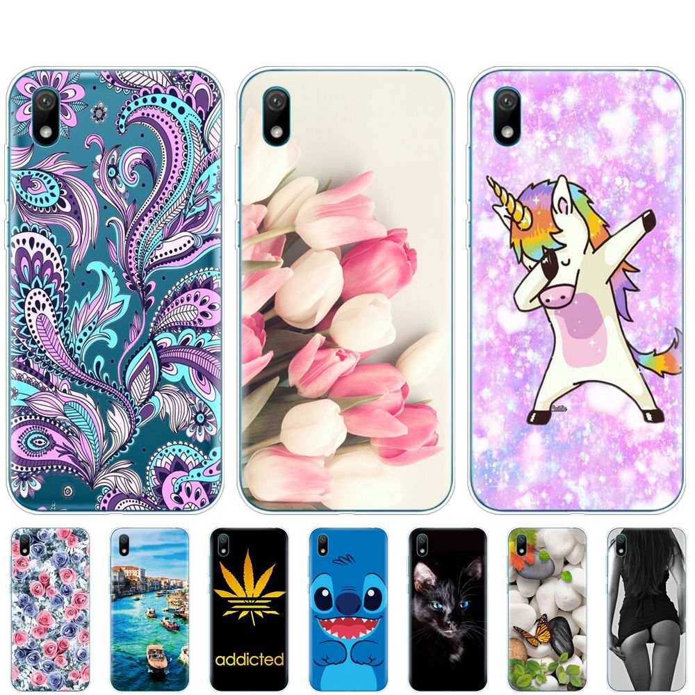 Special Price of For Huawei y5 2019 Case Silicone TPU back Cover ...