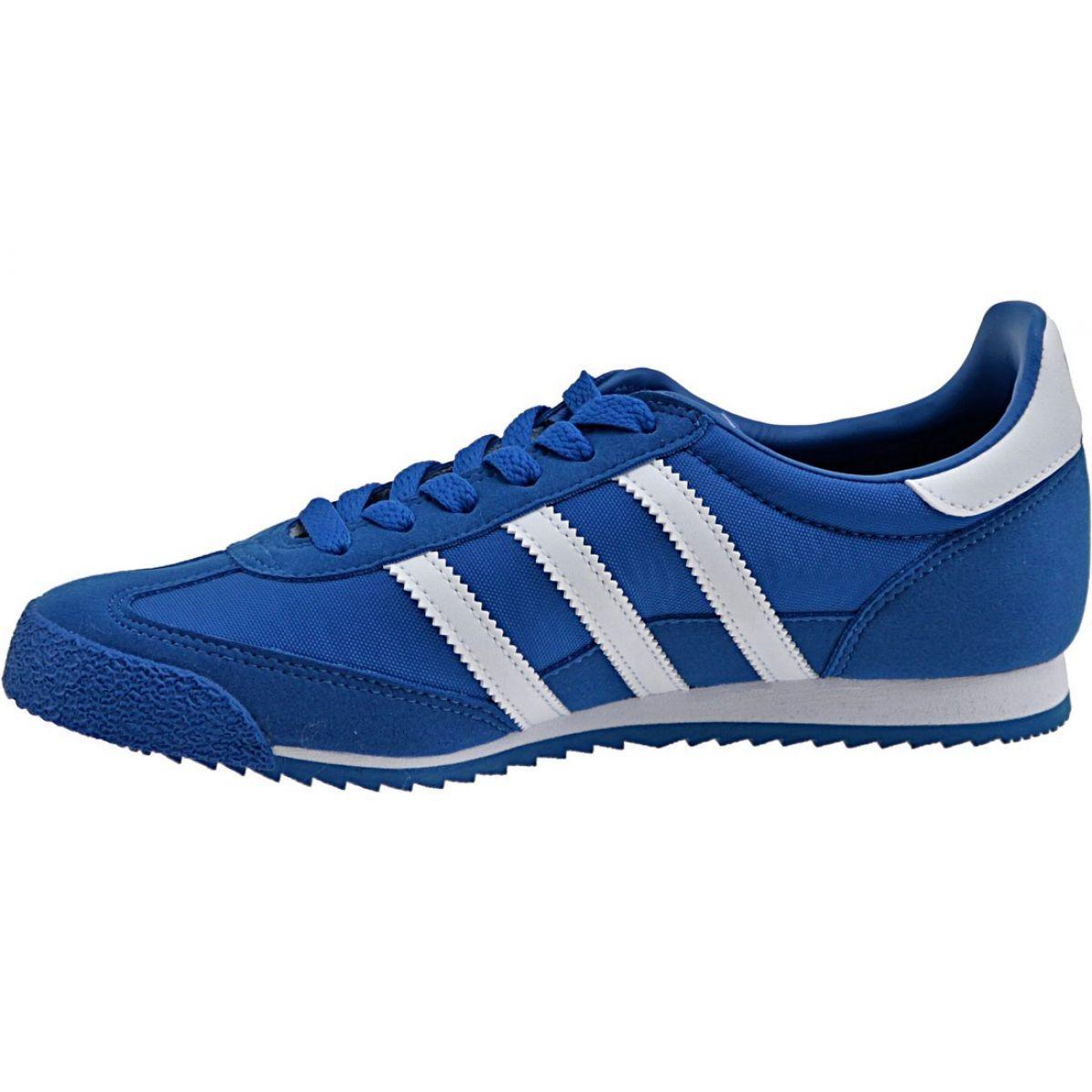 Buty Adidas Dragon Og Jr Bb2486 Niebieskie Adidas Dragon Junior Shoes Blue Shoes