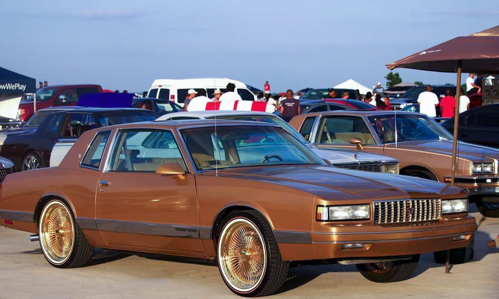 All That Gold Monte Carlo And Vogue Tires Classic Cars Chevy