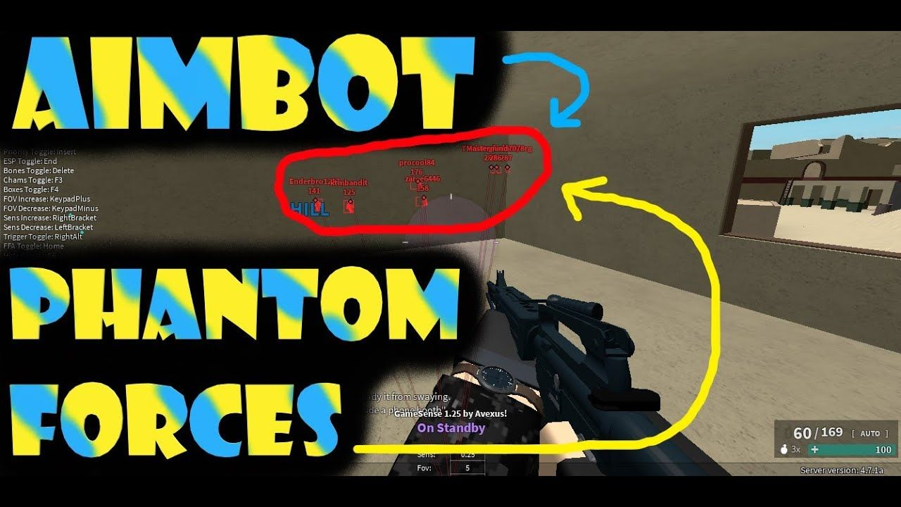 Roblox Awesome Aimbot For Phantom Forces Roblox Roblox 2006