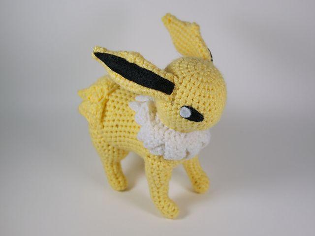 Ravelry: Jolteon pattern by -Crochet - Hook-   Patrones Amigurumi ...