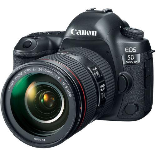 Canon EOS 5D Mark IV DSLR Camera with 24-105mm f/4L II Lens – Camera Gear Store