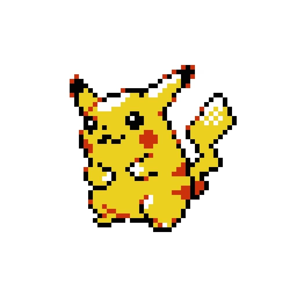 Pokemon Yellow Pikachu Sprite Images | Pokemon Images