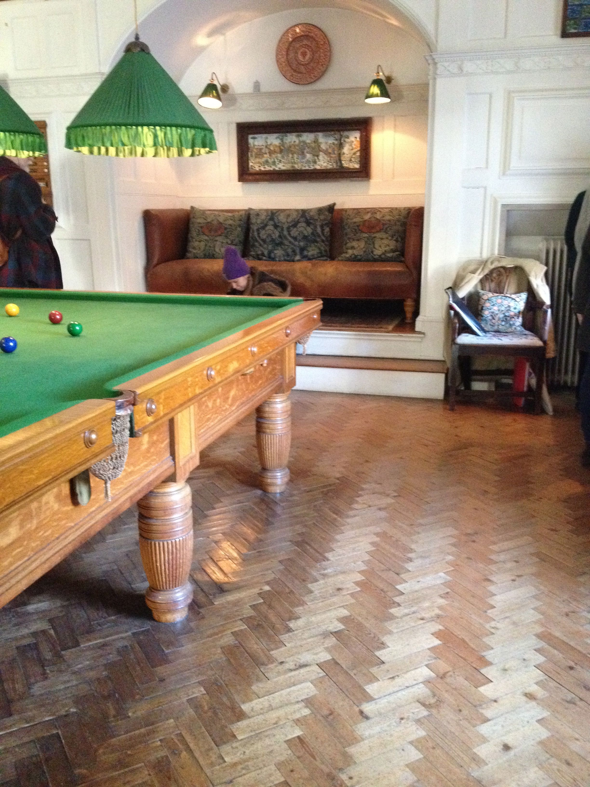 Standen National Trust Billiard Room