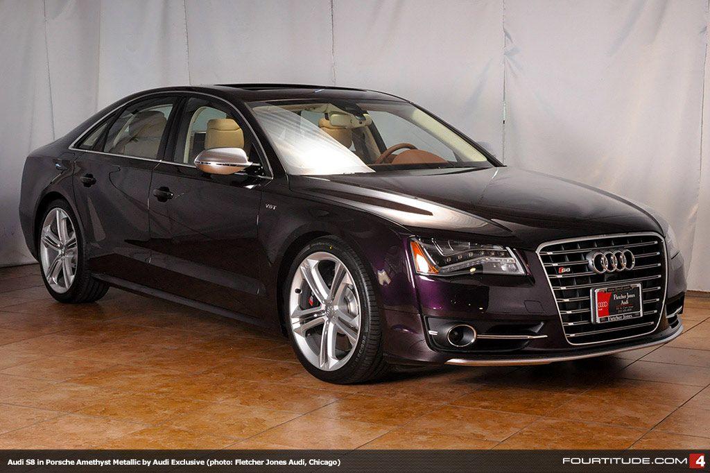 Porsche Amethyst Metallic Audi S By Audi Exclusive Available At - Fletcher jones audi chicago