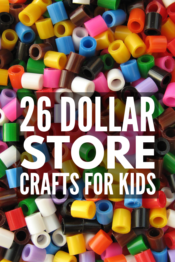 Crafting on a budget: 26 super fun dollar store crafts for kids