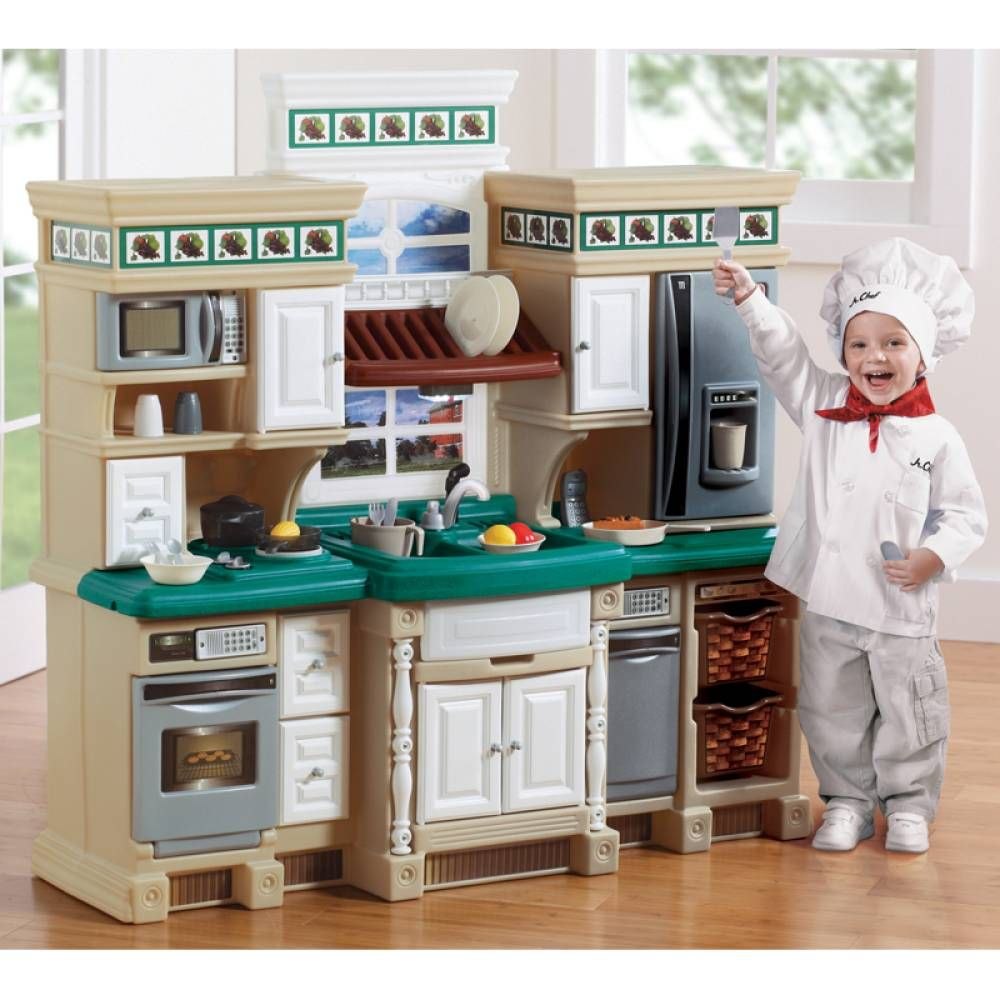 Cocina step 2 lifestyle deluxe kitchen ni os diversi n juguetes walmartcommx diversi n - Cocina de juguete step 2 ...