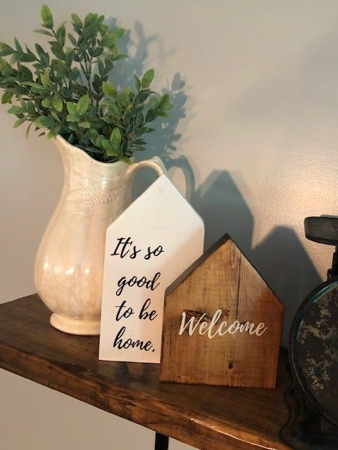 Photo of DIY Wood House Sign Craft – The Little Frugal House
