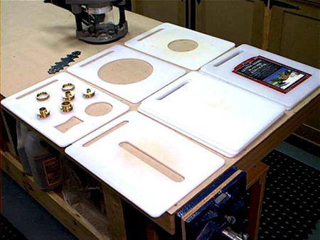 From Cutting Boards to Router Patterns   De planches à découper à