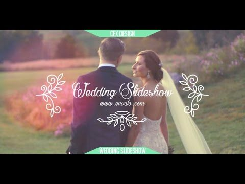 Wedding Slideshow | After Effects template | After Effects Templates ...