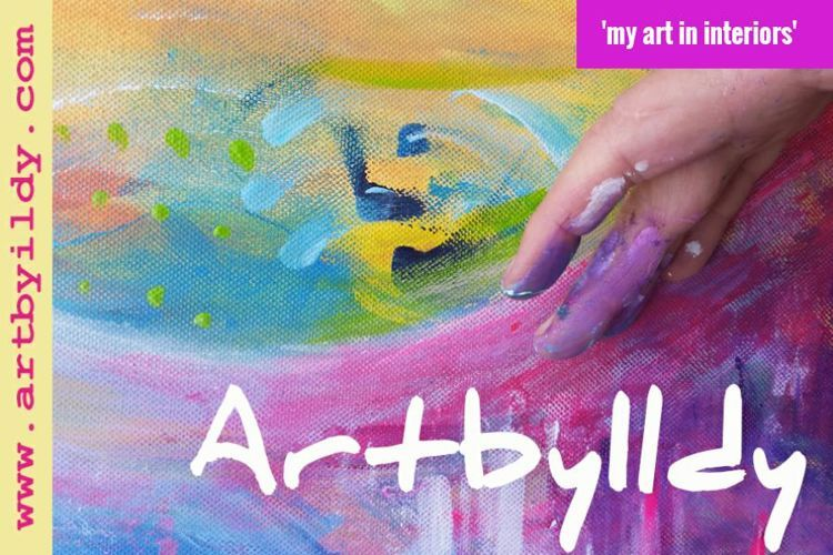 FlipSnack   ArtbyIldy  - my art in interiors by artbyildy