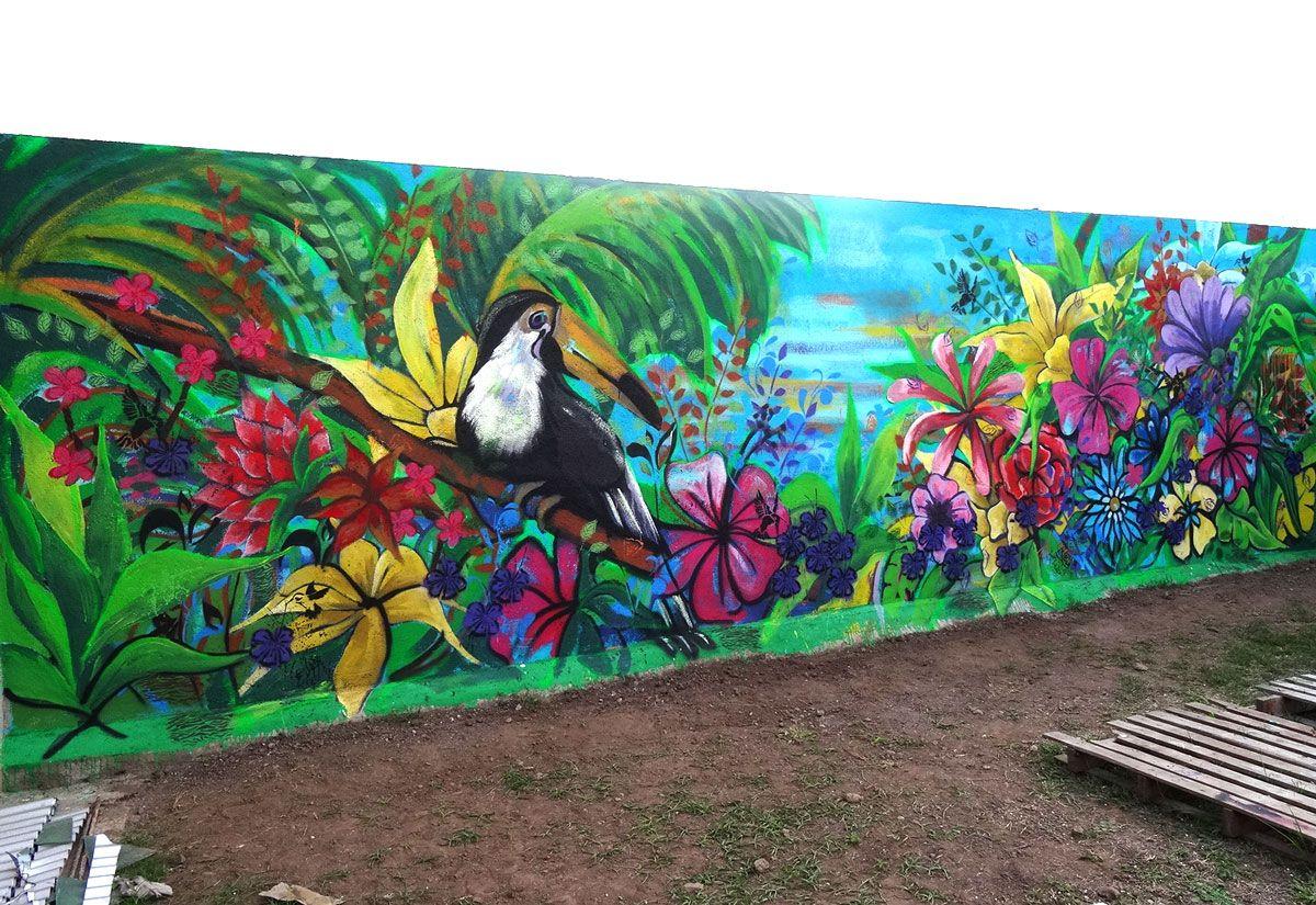 Mural tropical