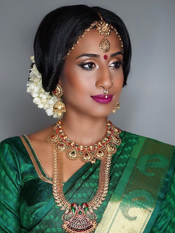 Www Ravbbeauty Com Bridal Makeup Bridal Hair Bridal Hairstyle Bridal Bun Wedding Makeup Wedding Hair Wedding Hairstyle Indian Bridal Makeup India Sari