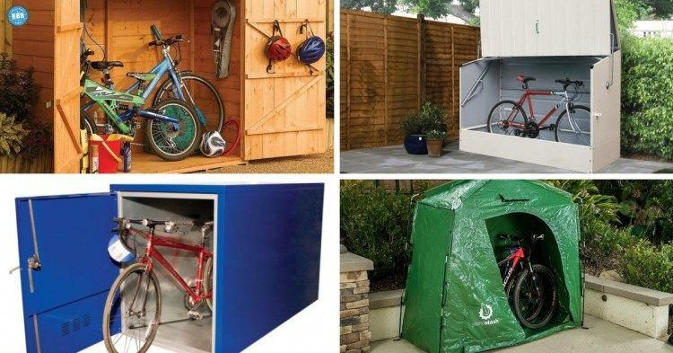 Types Of Bikes Outdoor Bicycle Storage Bicycle Storage Shed