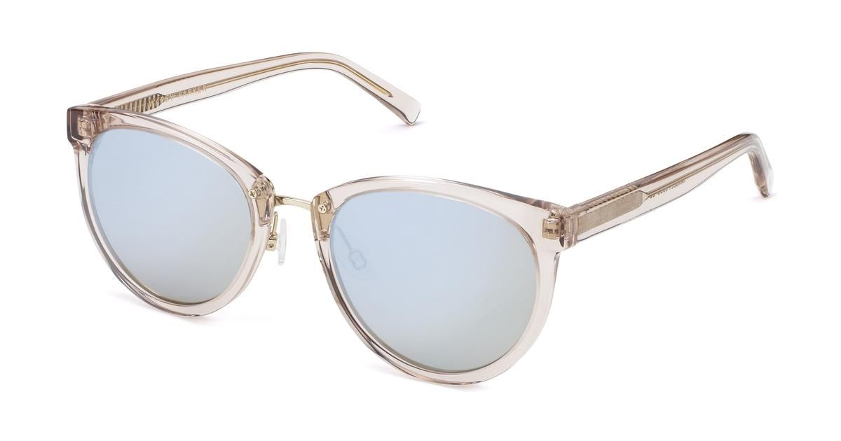 cbe98f12c9 Tansley Sunglasses in Pewter with Flash Mirrored Iridescent lenses for Women