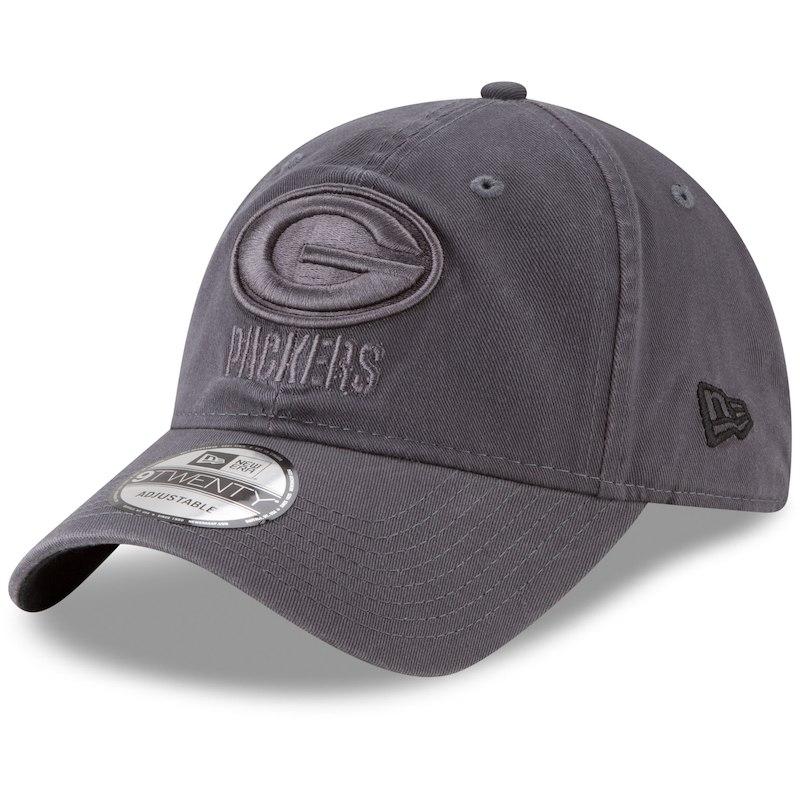 097ad939 Green Bay Packers New Era Core Classic Tonal 9TWENTY Adjustable Hat ...