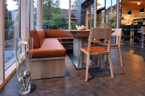 Bank BERTA und Stühle LILLY von WITTMANN #design #austria - inneneinrichtung