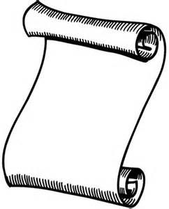 paper scroll colouring pages