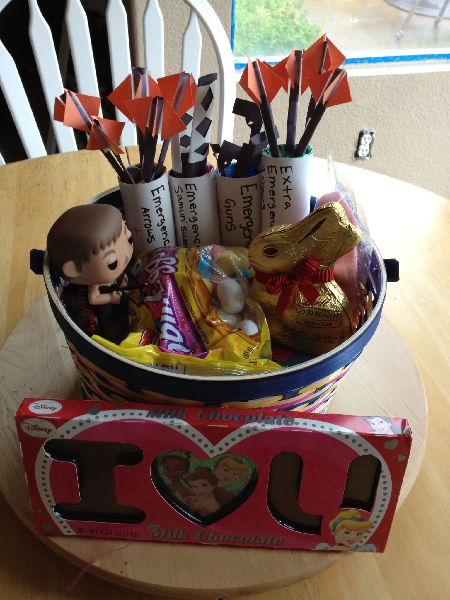 Funny easter basket from my daughter she knows i love daryl from funny easter basket from my daughter she knows i love daryl from the walking dead negle Image collections
