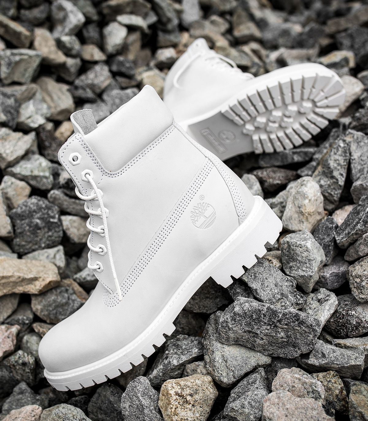 Timberland 6 Inch Boot: Ghost White | Footwear in 2019