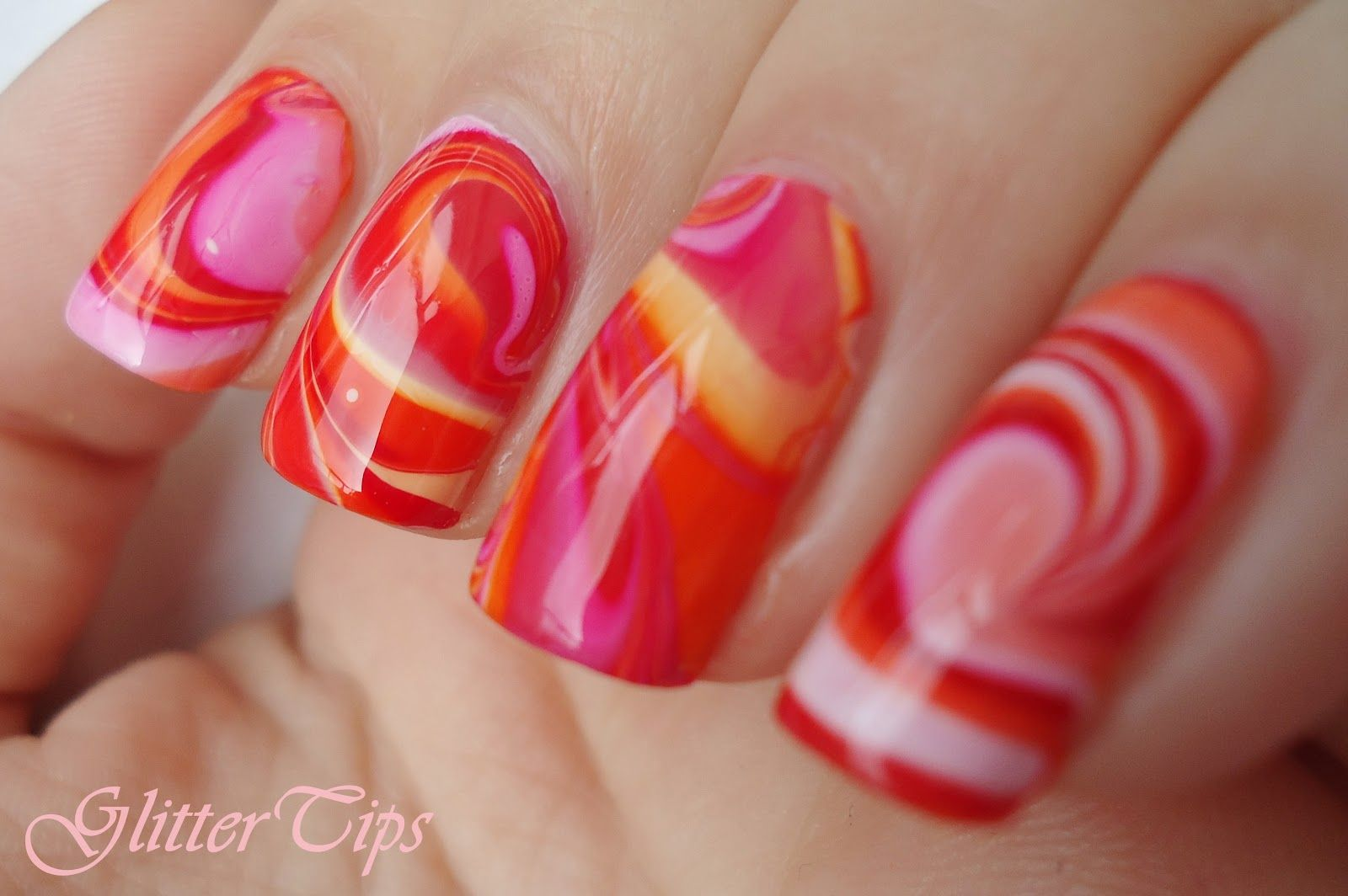 Glitter Tips: Rio Beauty - Marble Nail Art Polish: London ...