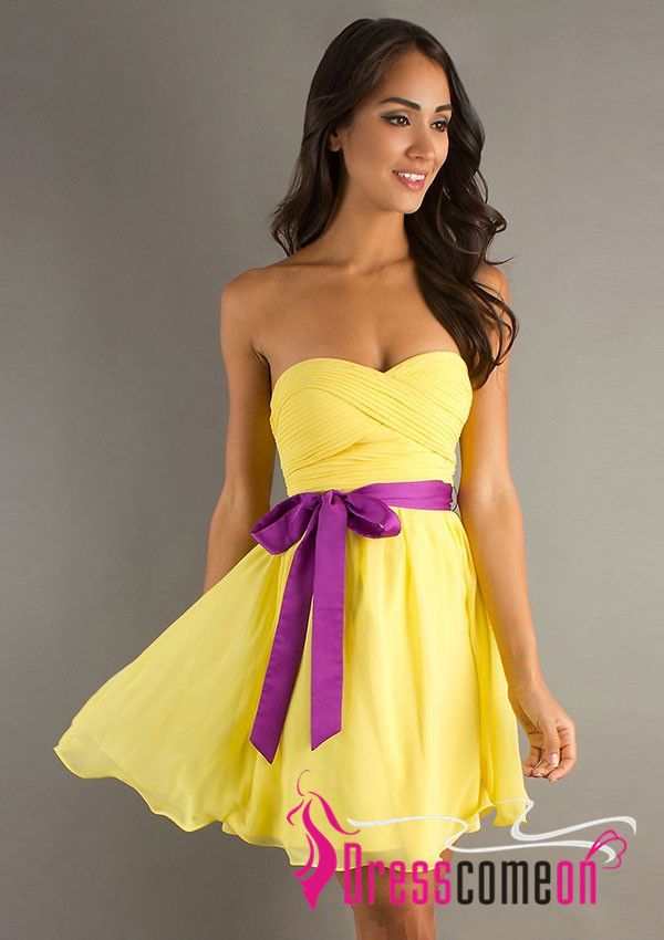 Yellow Summer Dresses 2013