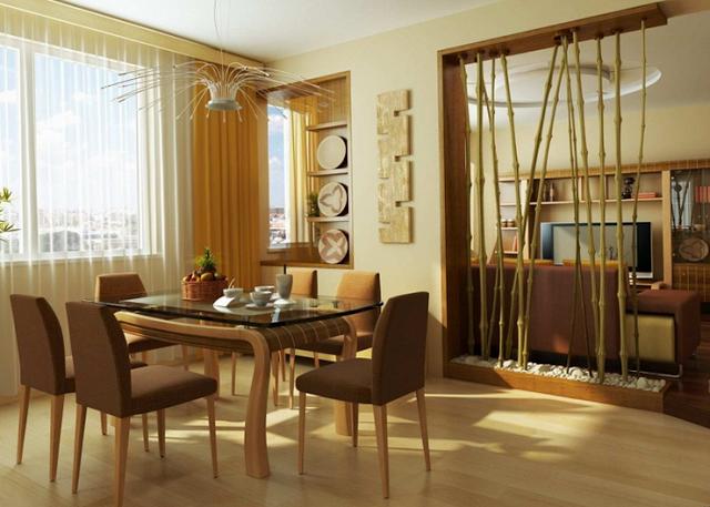 Decorar los interiores con bamb by for Decoracion ambientes chicos