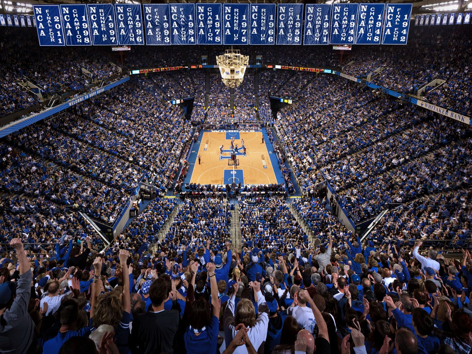 College Basketball Wallpaper: Kentucky Wildcats Basketball Wallpaper