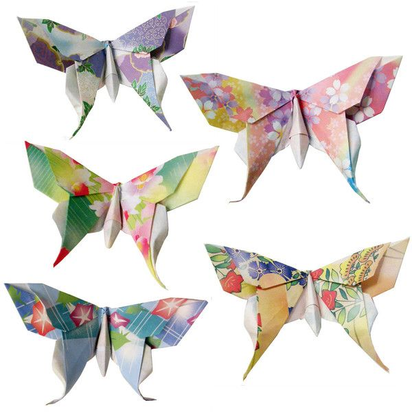 20 Small Swallowtail 3D Origami Butterflies (Floral Print) - Great for... ($12) ❤ liked on Polyvore featuring home, home decor, fillers, butterflies, backgrounds, decorations, animals, butterfly home decor, spring home decor and floral home decor