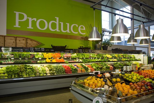 Produce Department Design Fruteria Y Verduleria Supermarket