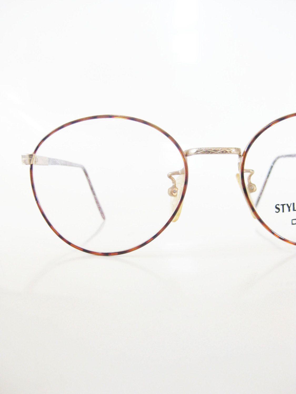 Mens Round Wire Rim Glasses - WIRE Center •